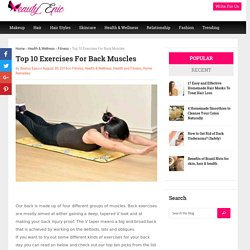 Top 10 exercises for Back Muscles