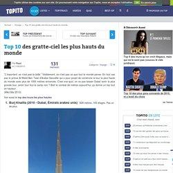 Top 10 des gratte-ciel les plus hauts du monde