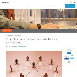 Top 10 des influenceurs en France