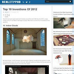 Top 10 Inventions Of 2012