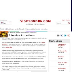 Watch or read Top 10 London Attractions. Visit London