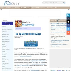 Top 10 Mental Health Apps