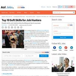 Top 10 Soft Skills for Job Hunters