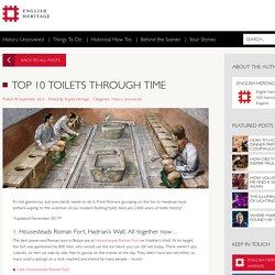 Top 10 Toilets Through Time