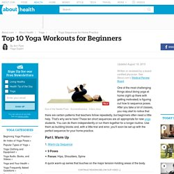 Top 10 Yoga Workouts for Beginners