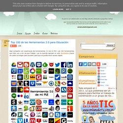 Top 100 de las Herramientas 2.0 para Educación