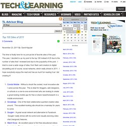 - Top 100 Sites of 2011