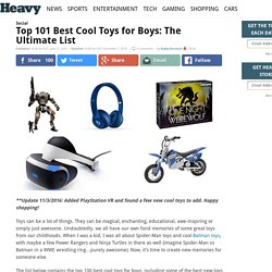 Top 101 Best Cool Toys For Boys