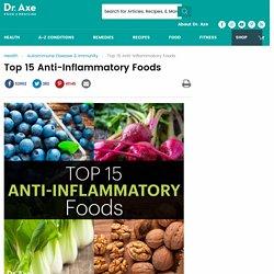 Top 15 Anti-Inflammatory Foods