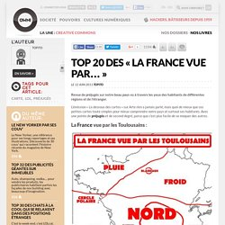 Top 20 des « La France vue par… »
