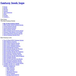 Top 25 Best Fantasy Books