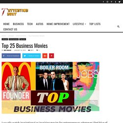 Top 25 Business Movies