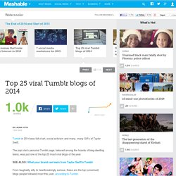 Top 25 viral Tumblr blogs of 2014