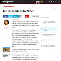 Top 30 Startups to Watch
