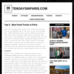 Top 5 : Best Food Trucks in Paris