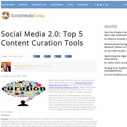 Top 5 Content Curation Tools