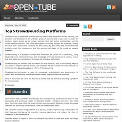 Top 5 Crowdsourcing Platforms