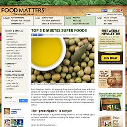 Top 5 Diabetes Super Foods