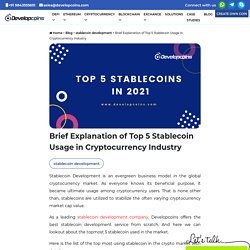 Top 5 Stablecoins in 2021