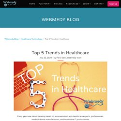 Top 5 Trends in Healthcare