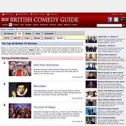 Top 50 British Sitcoms