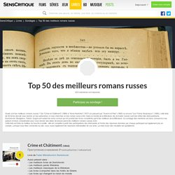 Top 50 des meilleurs romans russes