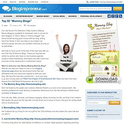 "Top 50 ""Mommy Blogs"""
