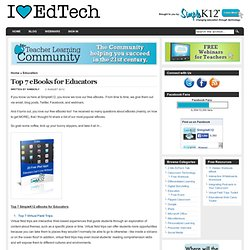 Top 7 eBooks for Educators