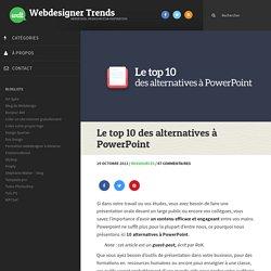 Le top 10 des alternatives à PowerPoint