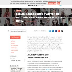 Le Top 10 des ambassadeurs Twitter de PVCI !