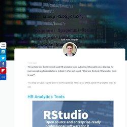 Top 5 HR Analytics Tools: An Overview - Analytics in HR