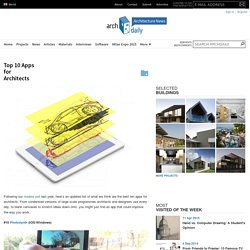 Top 10 Apps for Architects