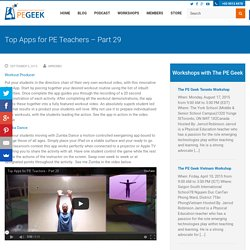 Top Apps for PE Teachers – Part 29