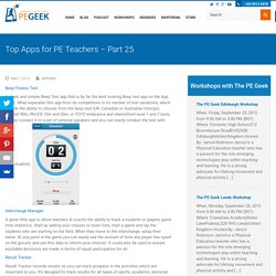 Top Apps for PE Teachers - Part 25 - The P.E Geek