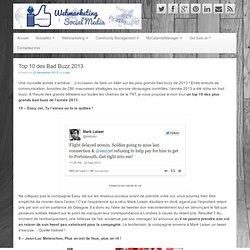 Top 10 des Bad Buzz 2013