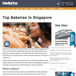 Top Bakeries In Singapore