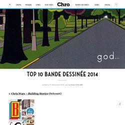 Top 10 Bande dessinée 2014 – Chro