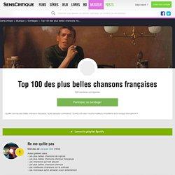 Top 100 des plus belles chansons françaises