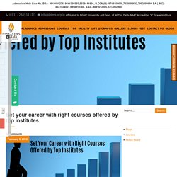 Best BBA colleges in Delhi NCR