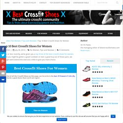 Top 10 Best Crossfit Shoes for Women
