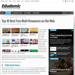 Top 10 Best Free Math Resources on the Web