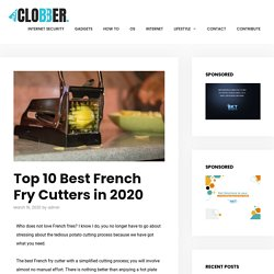 Top 10 Best French Fry Cutters in 2020