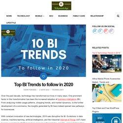 Top BI Trends to follow in 2020