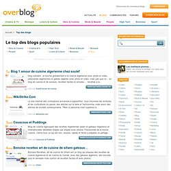 TOP blog : Le Top des blogs francophones