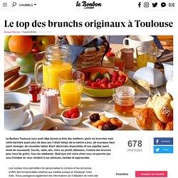 Le top des brunchs originaux à Toulouse