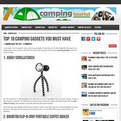 Top Camping Gadgets