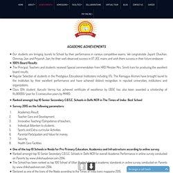 Ramagya C.B.S.C. School in Noida sector 50