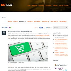 Top E-commerce Sites in UAE and Middle East
