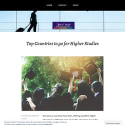 Top Countries to go for Higher Studies