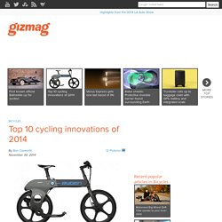 Top 10 cycling innovations of 2014